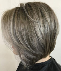 beautiful modern haircut
