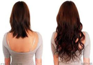 before after hair extension cost