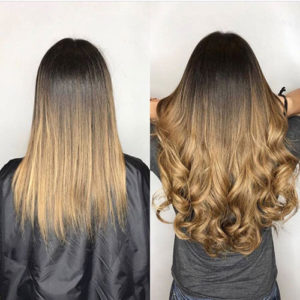 long hair extension Richmond hill