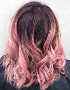 richmondhill ombre hair color