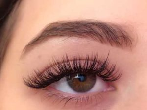 Richmond hill Eyelash extension after