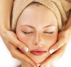 esthatic salon facial treatment