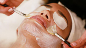 facial treatment esthetic salon